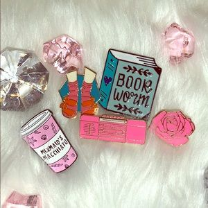 Sexy Librarian Pin Set 5 for $20
